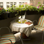 Trang trí làm đẹp Lô gia, ban công căn hộ chung cư Vinhomes Gardenia Mỹ Đình