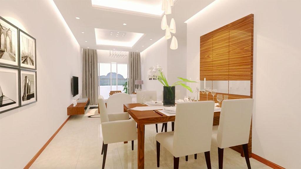 Ở chung cư New Life Tower Hạ Long bạn sẽ được tận hưởng một không gian sống hiện đại và tiện nghi nhất.